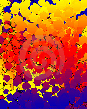 Hexagon Background 3 Stock Images - Image: 7046844