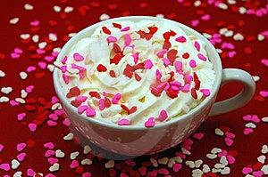 Valentine Drink Royalty Free Stock Image - Image: 7047576