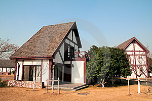 House In Residential Area Royalty Free Stock Images - Image: 7048869