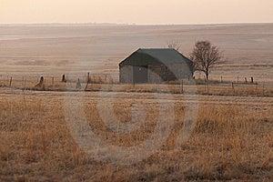 Stone Barn At Dawn Stock Photos - Image: 7049263