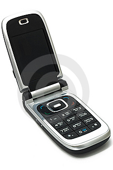 Mobile Phone With Russian Keyboard Stock Images - Image: 7050644
