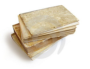Stack Of Old Books Stock Photo - Image: 7050680