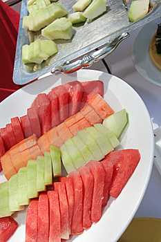 Fruit At Buffet Royalty Free Stock Image - Image: 7052516