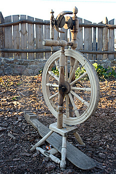 Spinning-wheel Stock Photos - Image: 7053583