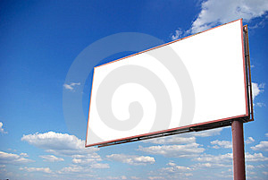 Billboard Stock Image