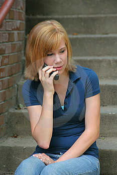Quiet Chat Royalty Free Stock Image - Image: 7060206