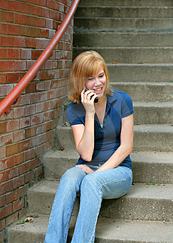 Teen Talk Royalty Free Stock Photo - Image: 7060235