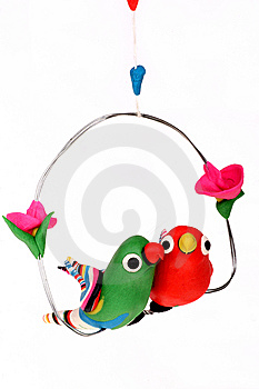 A Pair Of Lovely Birds Royalty Free Stock Photography - Image: 7062067