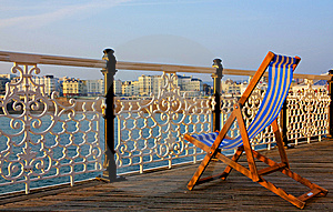 Deck Chair Stock Image - Image: 7063771