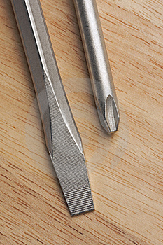 Pair Of Screwdrivers Royalty Free Stock Photo - Image: 7064105