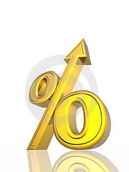 Percent Growth Stock Images - Image: 7065084