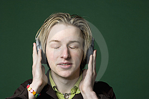 Enjoying Music Stock Photography - Image: 7065122