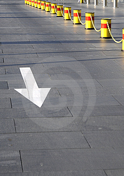 Sign Of Direction Royalty Free Stock Photography - Image: 7066307