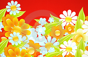 Flower Pattern Stock Images - Image: 7067524