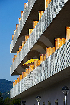 Detail Of Modern Exterior Royalty Free Stock Images - Image: 7067729