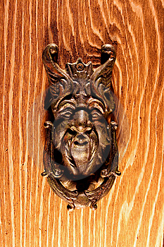 Door Knocker Royalty Free Stock Photo - Image: 7078105