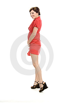 Shy Sexy Girl Royalty Free Stock Photo - Image: 710285