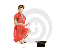 Hat Trick Girl Stock Images - Image: 710404