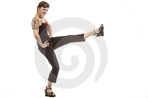 Let's Exercise Stock Image - Image: 710701