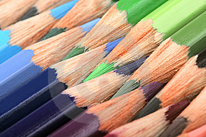 Color Pencils Royalty Free Stock Photos - Image: 7108728