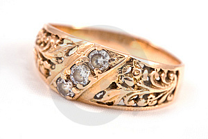 Golden Ring Stock Image - Image: 7116191