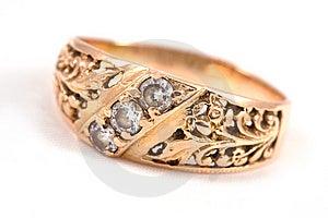 Golden Ring Stock Image - Image: 7116191