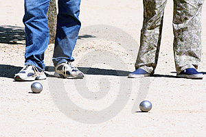 Παιχνίδι των σφαιρών. Στοκ Φωτογραφίες - εικόνα: 721223