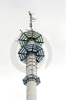 Broadcasting Tower Stock Images - Image: 725594