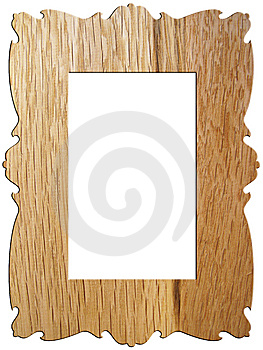 Wooden Photoframe Stock Photo - Image: 7226510