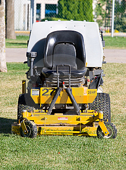 Industrial lawn mower Stock Image