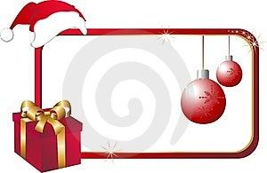 Christmas card Free Stock Photography
