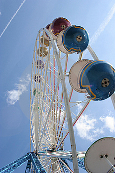 Ferris Wheel Royalty Free Stock Image - Image: 731916