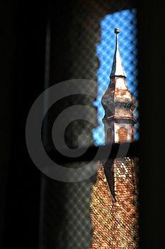 Torre De Iglesia Fotografía de archivo - Imagen: 732162