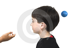 Fun With A Ball Stock Images - Image: 734864