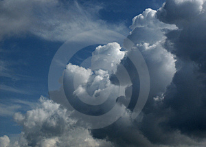 Sky and Clouds 7 Royalty Free Stock Images
