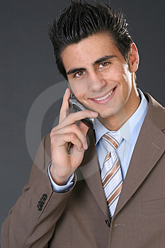 Bussines Man Royalty Free Stock Image