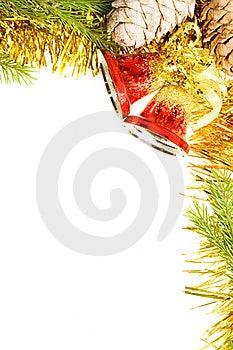Christmas frame Royalty Free Stock Image