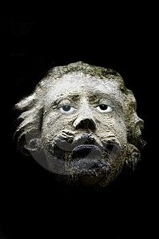 Gargoyle With Real Eyes Stock Photography - Image: 740912