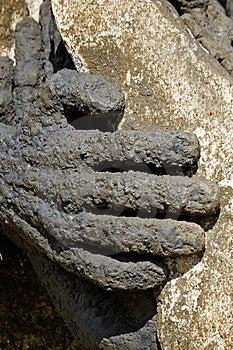 Metal Hand Stock Image - Image: 746091