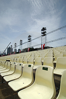 Chairs stock photo. Image of reserve, theater, quantity - 746116