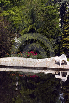 Water Garden Royalty Free Stock Photography - Image: 746367