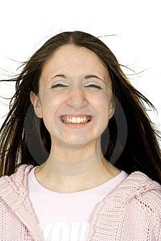 Big Teenage Smile :) Stock Photo - Image: 748460