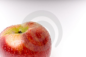 Look at the apple Free Stock Photo
