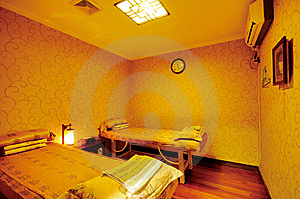 Massage Room Stock Image - Image: 7533701