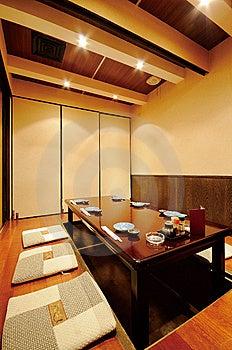 Japanese Restaurant Royalty Free Stock Image - Image: 7533996