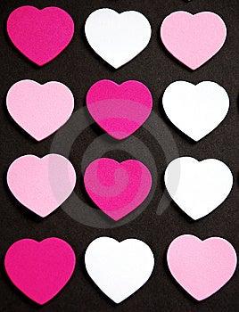 Valentine Hearts Royalty Free Stock Image - Image: 7571186
