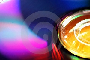 DVD Disk Blur Royalty Free Stock Photography - Image: 766627