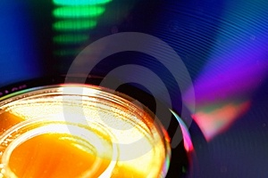 DVD Disk Blur Royalty Free Stock Images - Image: 766629