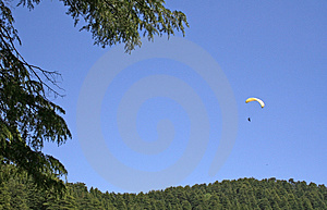 Parasailing  Adventure Sports In The Himalayas Royalty Free Stock Photography - Image: 769237
