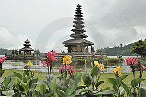 Candi Kuning, Royalty Free Stock Photography
